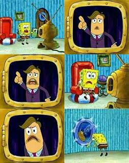 meme spongebob tayangan ampas lainya