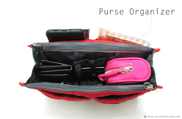 What's In My Bag? Purse Organizer from Dollarama, also available on Amazon