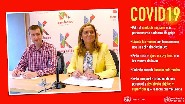 El concejal de Alcaldía, Gorka Zubiaurre (PNV), y la alcaldesa, Amaia del Campo (PNV)