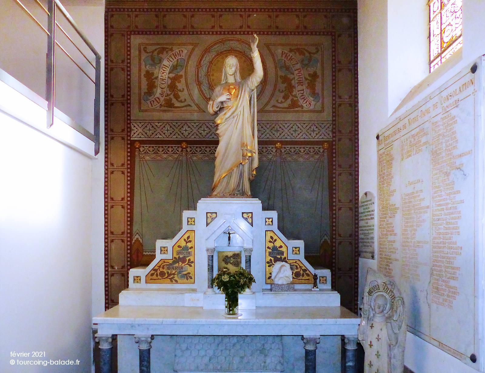 Statue Notre-Dame de la Consolation