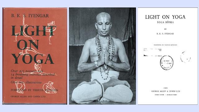Light on Yoga Book by B K S Iyengar
