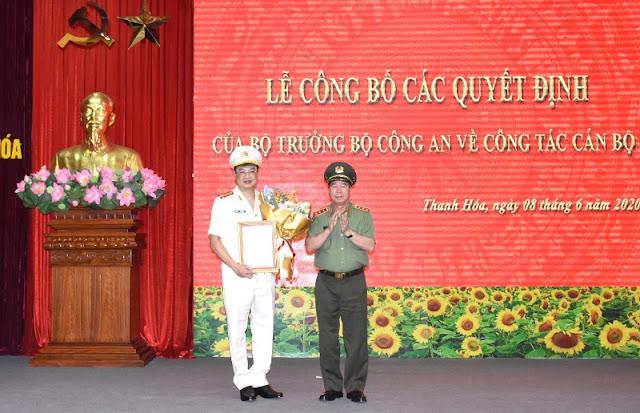 Thanh Hóa có tân Giám đốc Công an tỉnh - Đại tá Trần Phú Hà