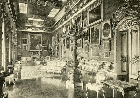 Waterloo Gallery, Apsley House,  from Private Palaces of London by EB Chancellor (1908)