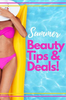 Dicas de beleza de verão por Barbies Bits de beleza e Ginjo Beauty