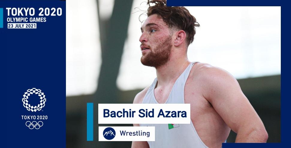 بشير سيد عزارة يقتطع تأشيرة التأهل للألعاب الأولمبية