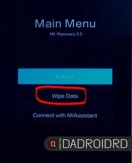 Hard Reset Xiaomi / Redmi