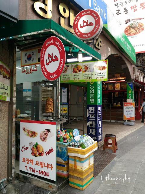 Adnan Kebab - Jajanan Halal di Namdaemun korea