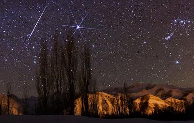 csillagászat, hullócsillag, decemberi csillaghullás, Geminidák