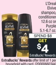 L'oreal Elvive shampoo