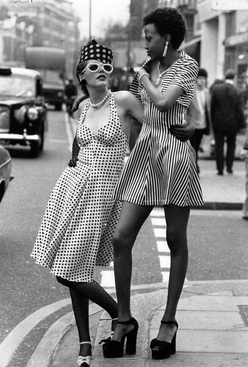 Sassy Ladies, 1970s ~ vintage everyday