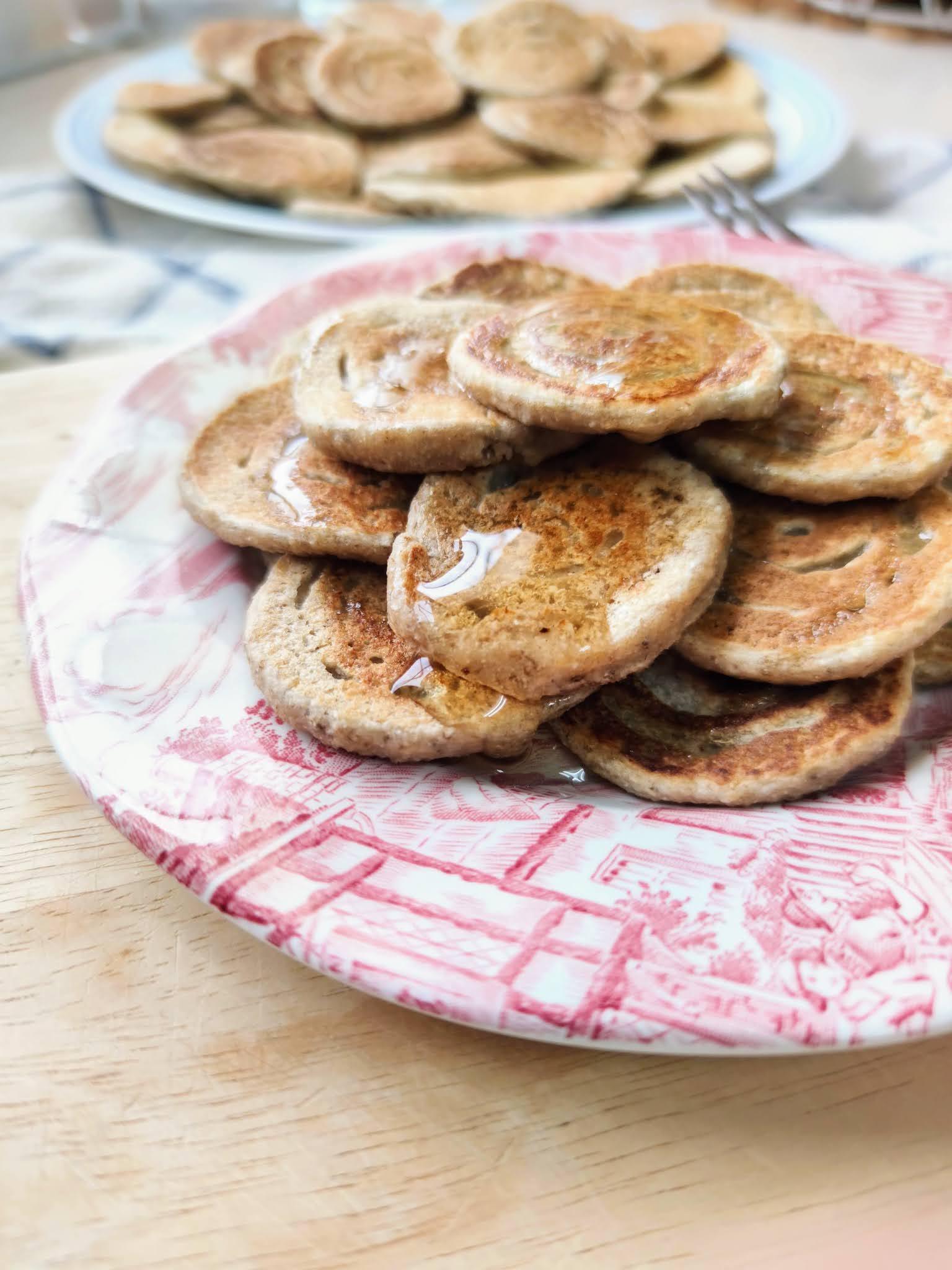 Tortitas sin gluten de coco