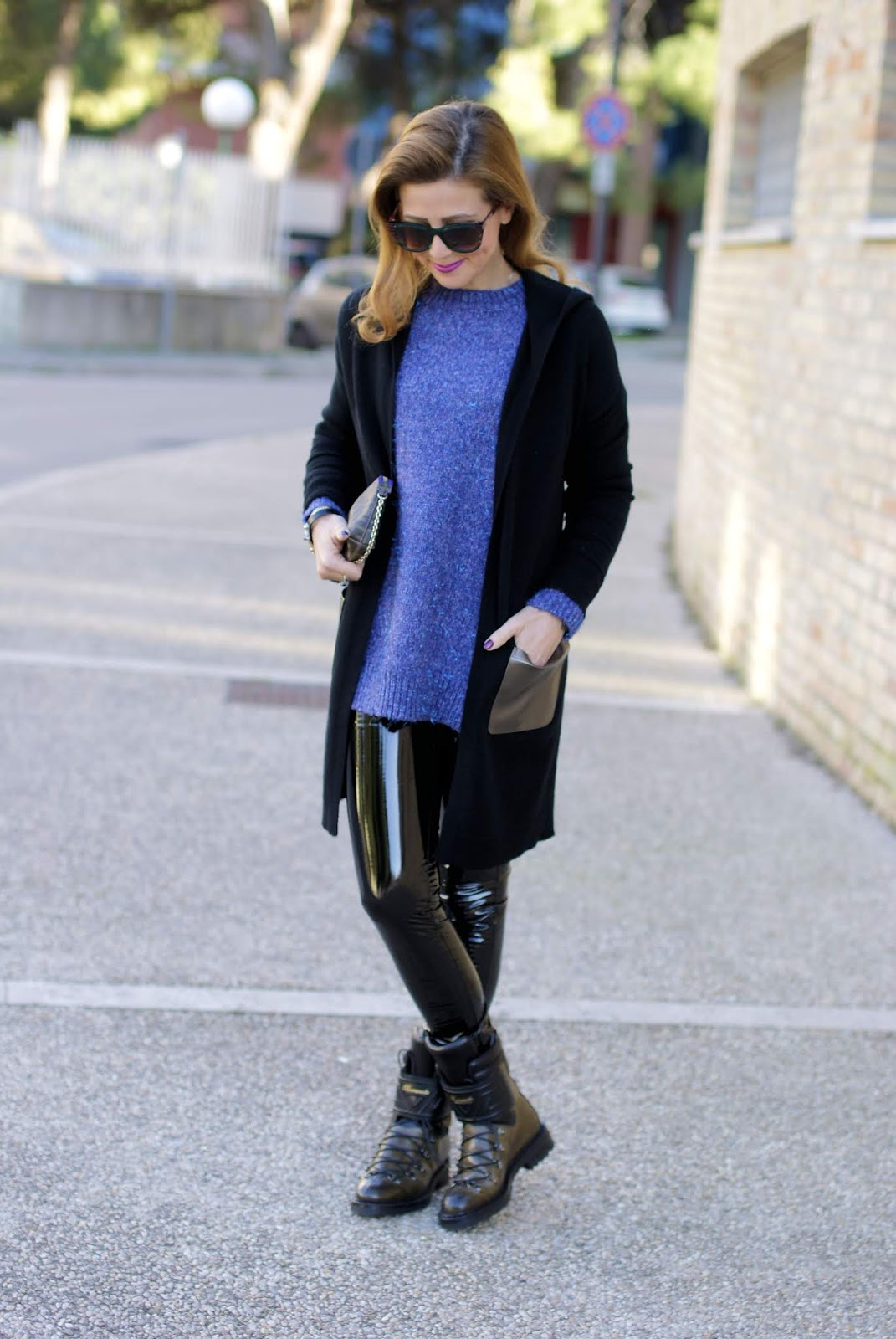 Banquise cashmere cardigan from 1.2.3 Paris on Fashion and Cookies fashion blog, fashion blogger