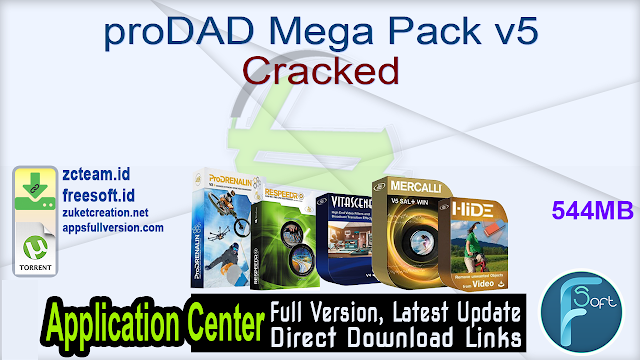 proDAD Mega Pack v5 Cracked