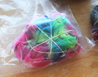 tie dye steps
