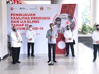 Presiden Jokowi Optimistis pengembangan vaksin untuk Covid-19 di Tanah Air dapat berjalan dengan baik