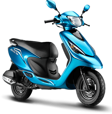 New 2016 TVS Scooty Zest 110 Hd Picture