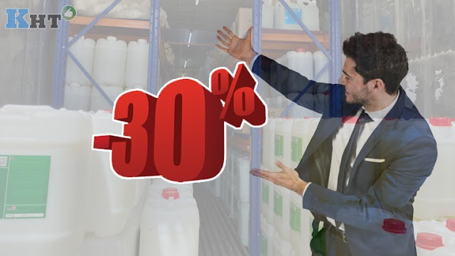 Giảm ngay 30% khi mua hóa chất giặt tẩy công nghiệp tại The One Cleantech