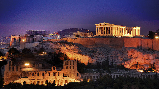 Visitação Acrópole, Atenas