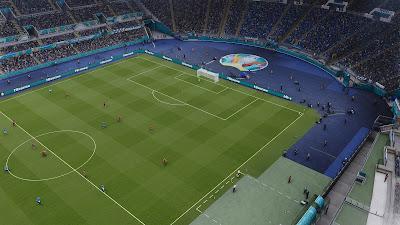 PES 2021 Stadium Olimpico EURO 2020