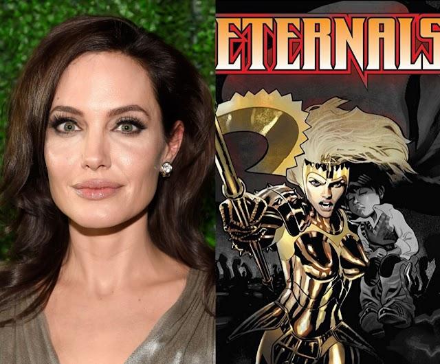 Angelina Jolie sertai keluarga Marvel