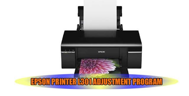 EPSON L301 PRINTER ADJUSTMENT PROGRAM