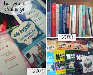 Ten years challenge