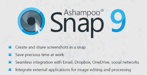 تحميل برنامج تصوير الشاشة وعمل الشروحات Ashampoo Snap 10