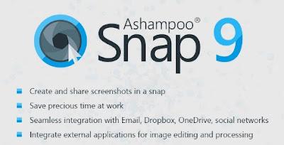 تحميل برنامج اشامبو سناب لتصوير الشاشة بجودة عالية - ashampoo snap