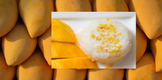 HEALTHY THAI STICKY RICE WITH MANGO