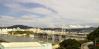 Câmera ao vivo da Ponte Hercilio Luz