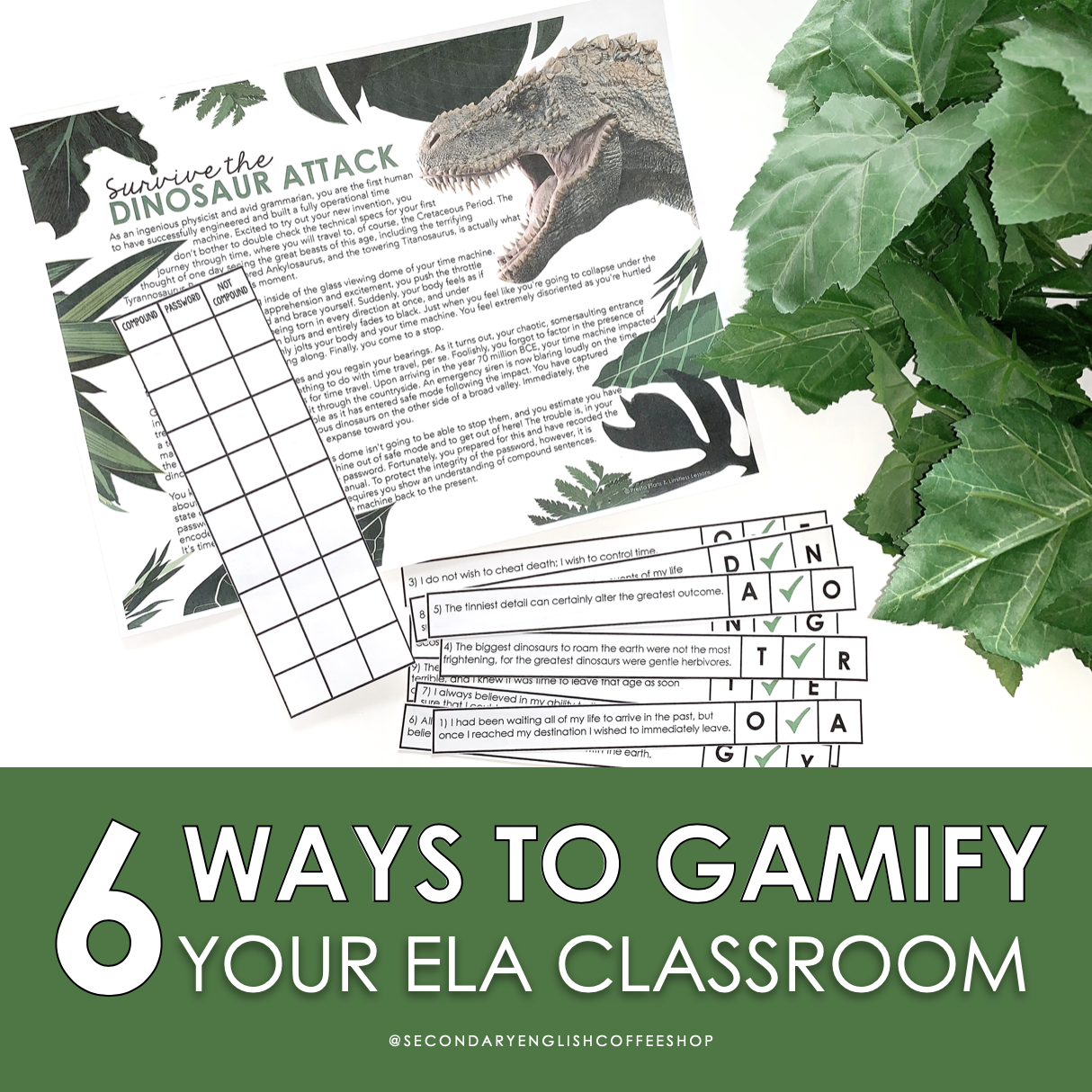 6 Ways to Gamify your English Language Arts Classroom Feature Image