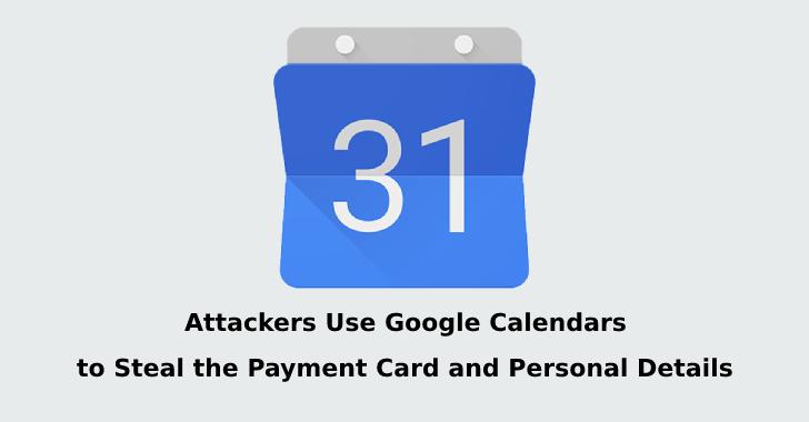 Calendar phishing