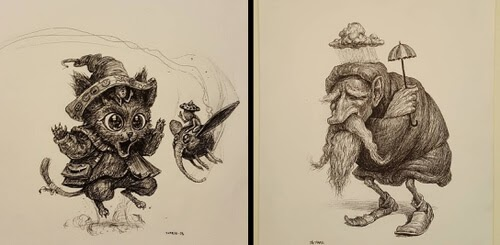 00-Creature-Drawings-Charles-Lister-www-designstack-co
