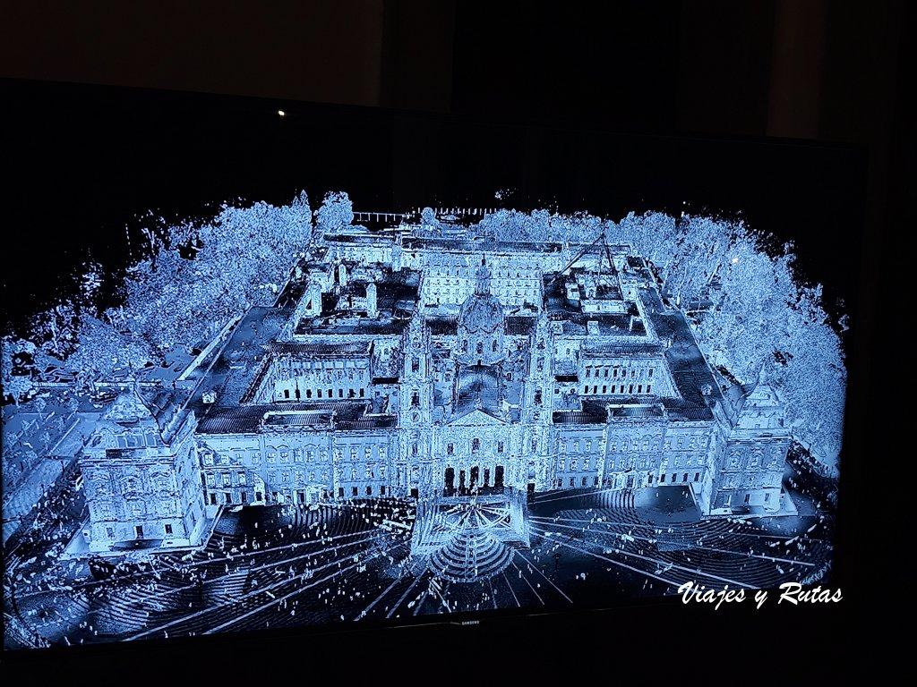 Imagen de documental del palacio de Mafra