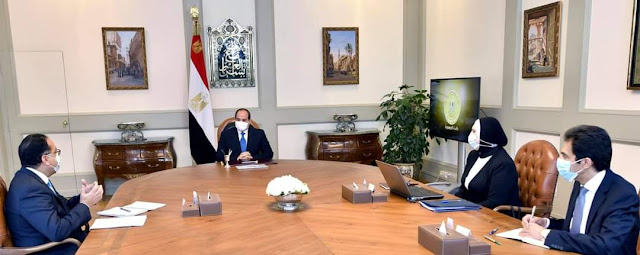 الرئيس السيسي يوجه بصياغة مخطط متكامل لتطوير القطاع الصناعي بالدولة