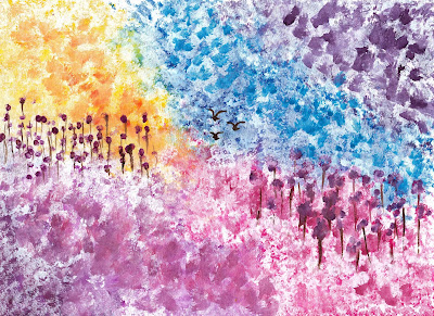 Free Abstract Watercolor Painting