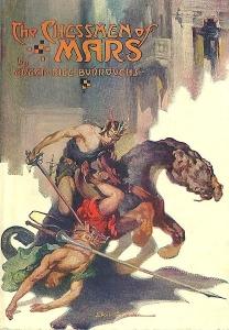 A Mars sakkjátékosai könyvborító, Allen St. John 1922