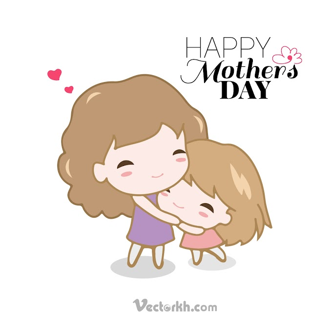 happy mother day card design vector Happy Mother Day 2019 free vector