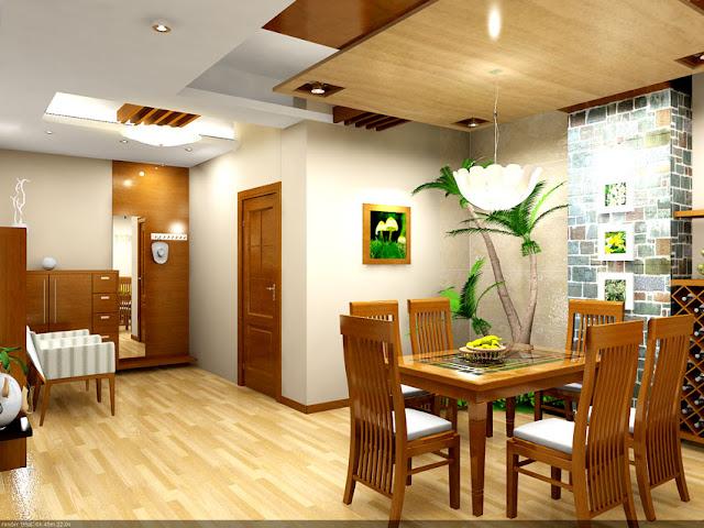thiết kế phòng bếp chung cư Samsora
