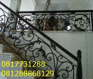 pagar tangga klasik