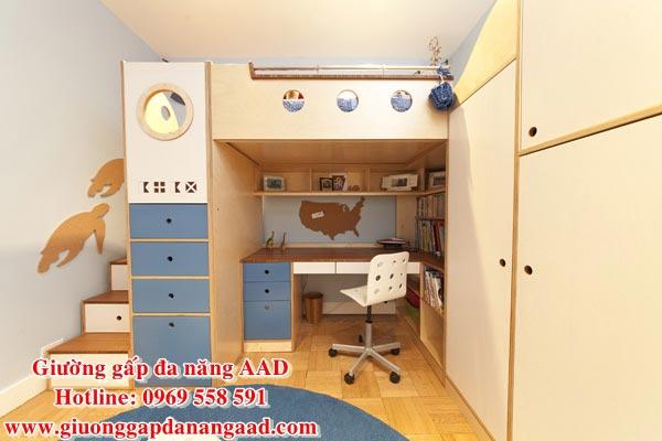 Giường tầng đa năng dành cho trẻ em