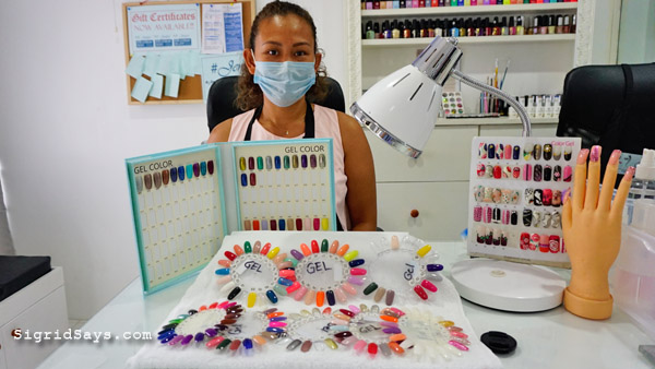 permanent makeup bacolod - jenelyns embroidery - nail polish samples