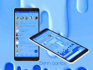 Blue Theme For YOWhatsApp & Fouad WhatsApp By Driih Santos