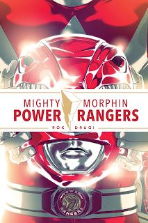 Mighty Morphin Power Rangers. Rok drugi okładka albumu
