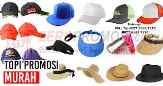 Topi dan Kaos Untuk Media Promosi Perusahaan Anda
