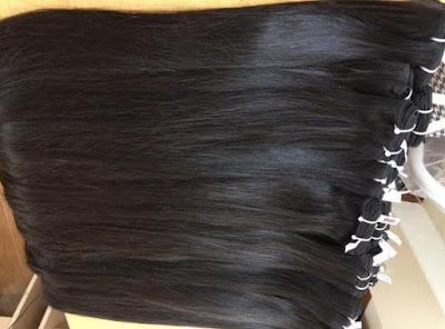 tóc nối bằng tóc thật