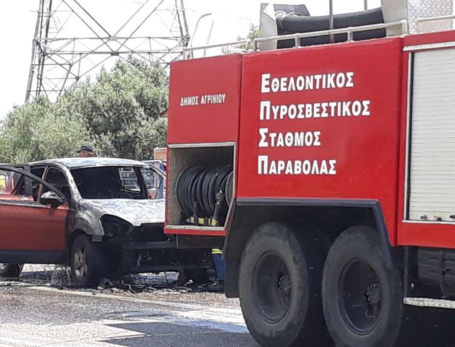 323ebb29a9c Στο σημείο έσπευσε το όχημα του Ε.Π.Σ Παραβόλας καθώς και ένα όχημα της Π.Υ  Αγρινίου. Οι Πυροσβέστες έσβησαν την φωτιά η οποία προκάλεσε σοβαρές ζημιές  στο ...