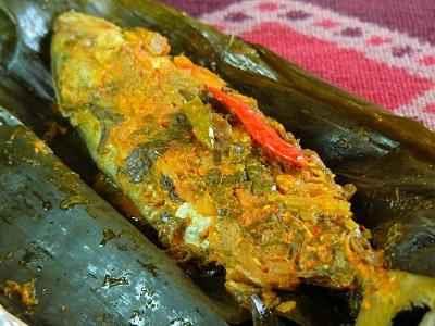 Resep Pepes Ikan Kembung Bumbu Kacang