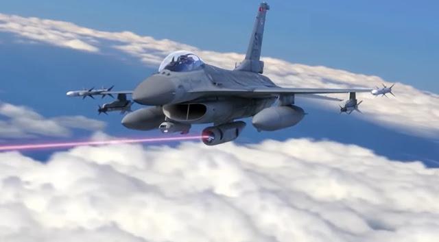 Laser war plane
