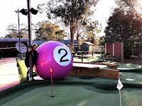 Canberra BIG Things | BIG Pool Balls